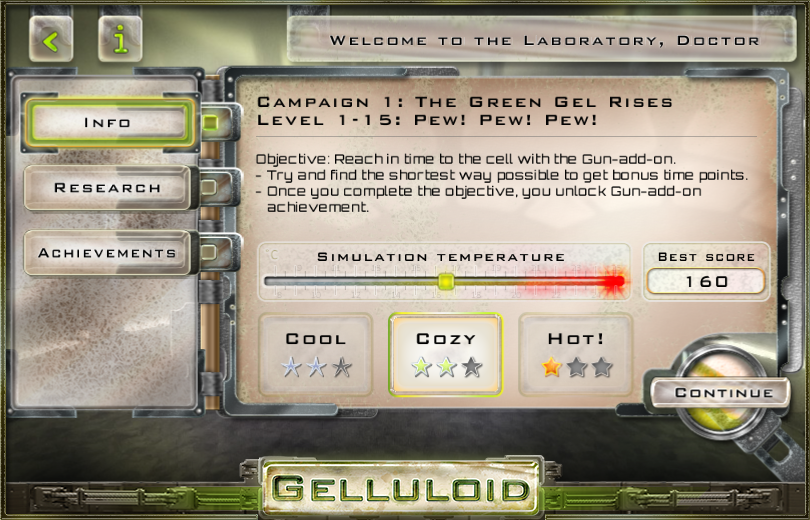 Gelluloid: Micro War Strategy- screenshot