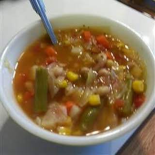 Homemade Vegetable Soup.