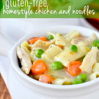 Gluten-Free Homestyle Chicken and Noodles