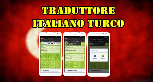Traduttore Italiano Turco