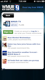 Alarm Clock WMUR New Hampshire - screenshot thumbnail