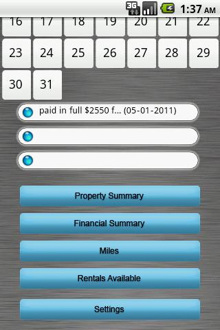 The Landlord App - screenshot