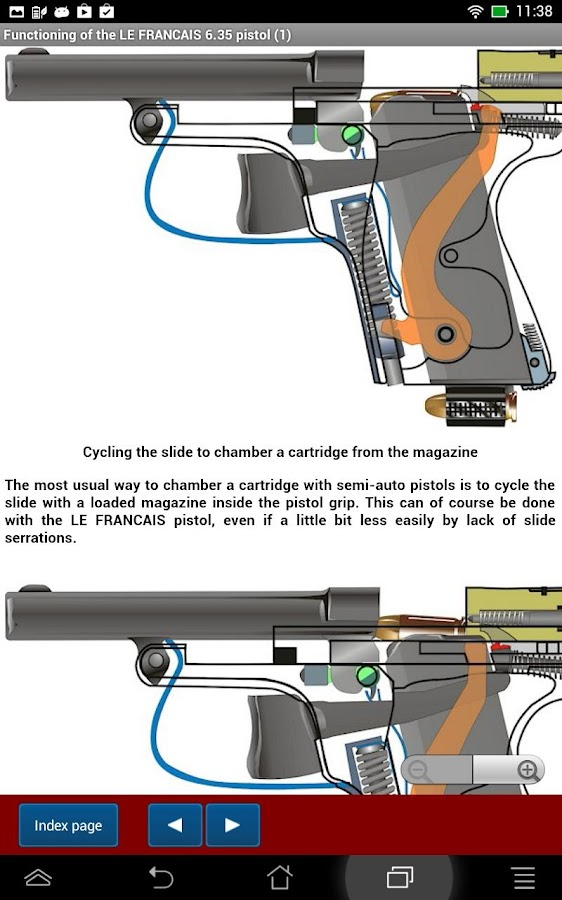 LE FRANCAIS pistols explained- screenshot