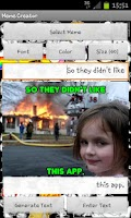 Screenshot of Meme Creator FREE