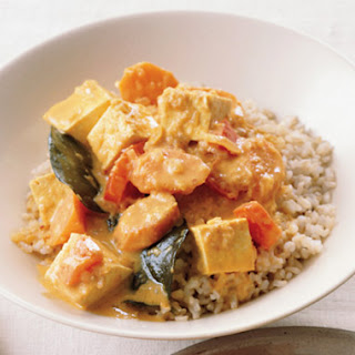 Panang Tofu Curry.