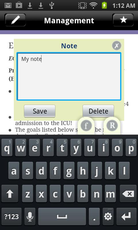 Sepsis Clinical Guide - screenshot