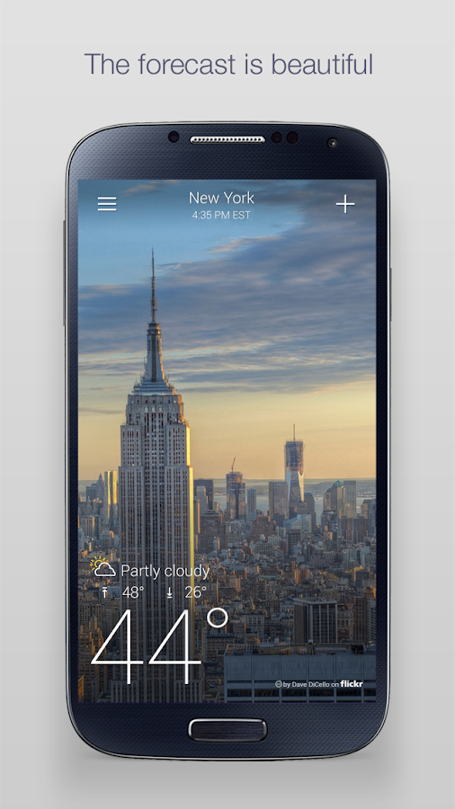 Screenshots of Yahoo Weather for Android