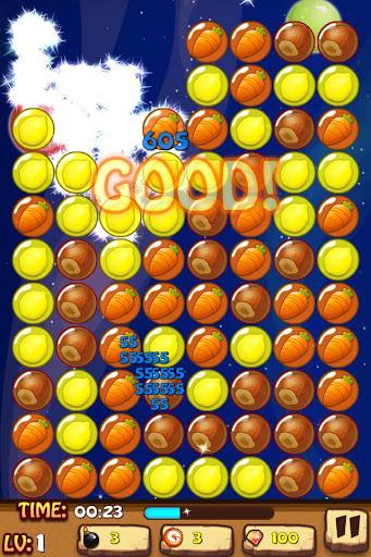 Click Fruit Bubbles