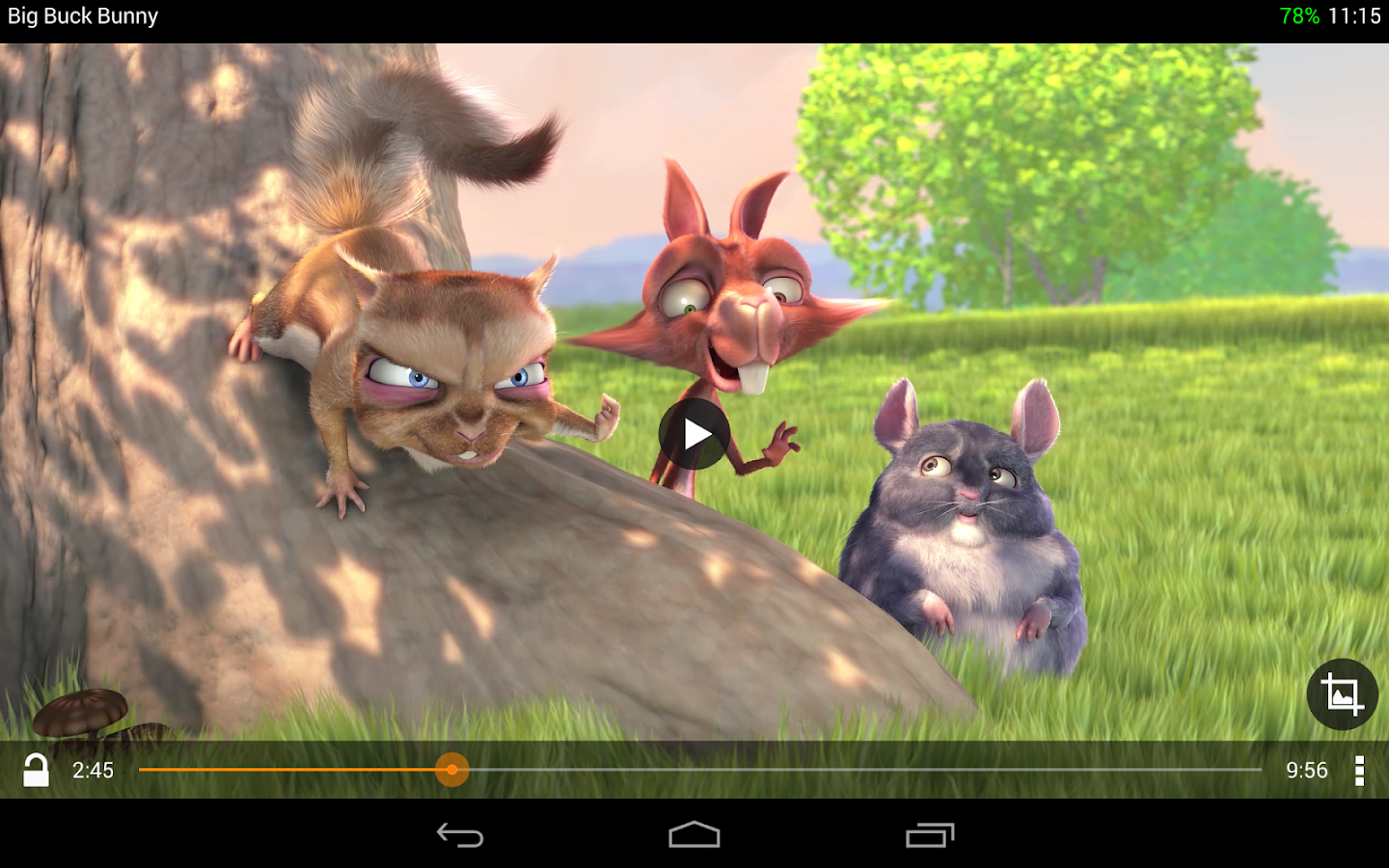 VLC for Android beta: captura de pantalla