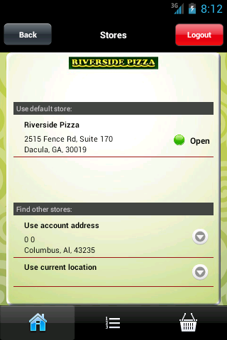 【免費生活App】Riverside Pizza-APP點子