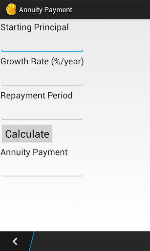 Annuity Payment