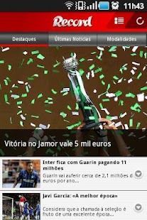 Jornal Record - screenshot thumbnail
