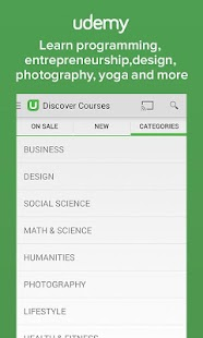 Udemy: Courses and Tutorials - screenshot thumbnail