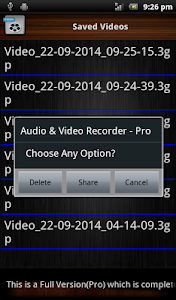 Audio and Video Recorder Lite screenshot 8