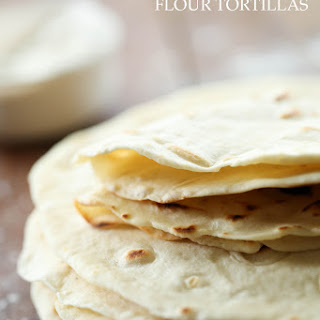 Perfect Homemade Flour Tortillas