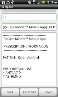 RxCase Minder® - screenshot thumbnail
