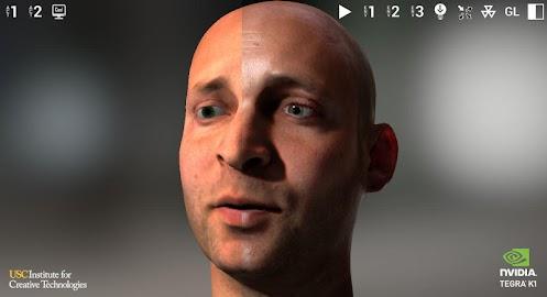 NVIDIA Tegra FaceWorks Demo Screenshot 3
