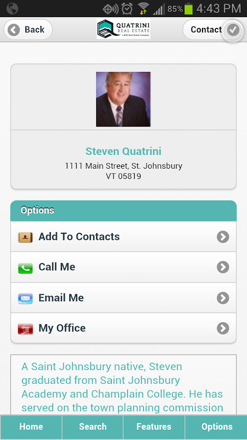 Quatrini Real Estate - screenshot