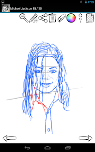 How to Draw: Famous Singers - screenshot thumbnail