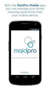MaidPro Mobile screenshot 0
