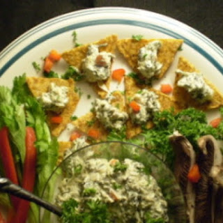 Warm Spinach, Artichoke And Portobello Mushroom Dip