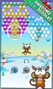 Bubble Monkey Xmas - screenshot thumbnail