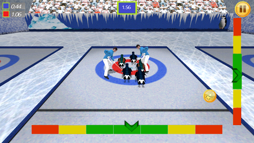 Crazy Penguin Curling 3D