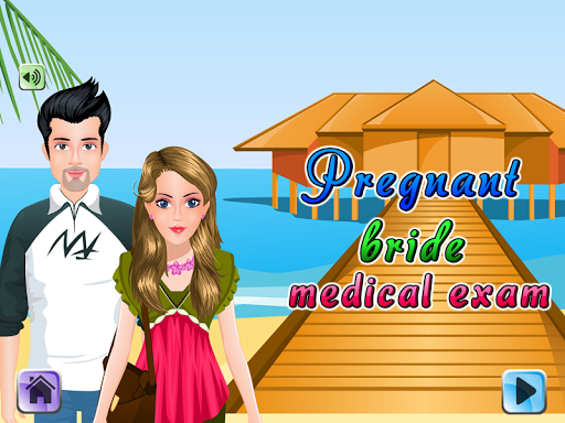 Pregnant Bride Medical Exam