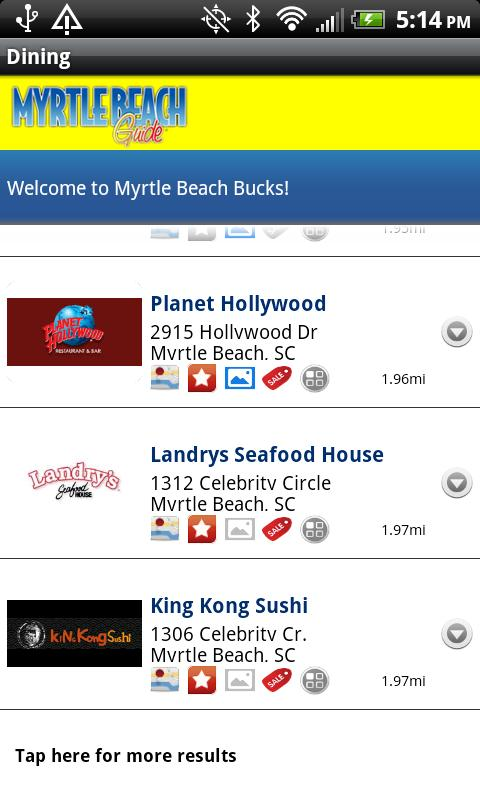 Myrtle Beach Guide SC- screenshot