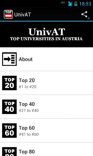 UnivAT: Austria Universities