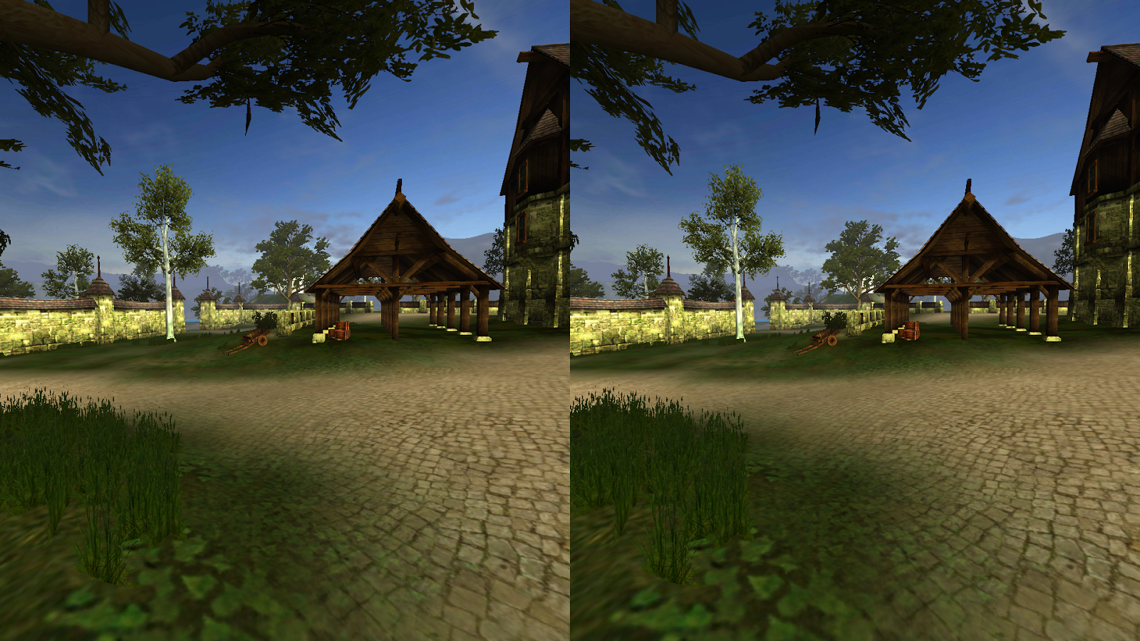 Village Virtual Reality- screenshot