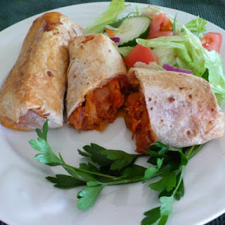 Chi Chi's Baked Chicken Chimichangas.