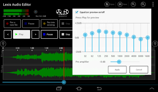 Lexis Audio Editor Android Apps On Google Play