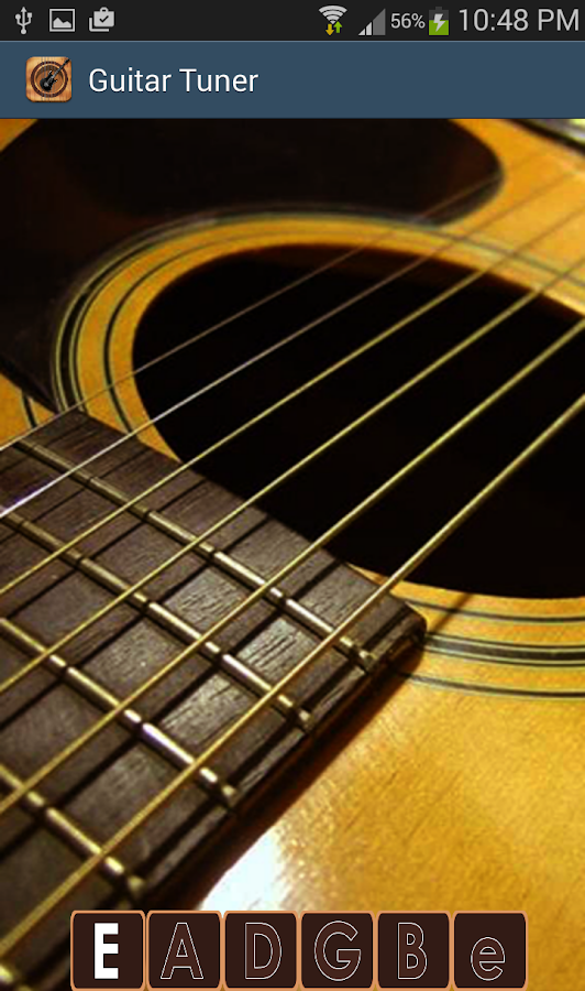 acoustic guitar tuner android apps on google play. Black Bedroom Furniture Sets. Home Design Ideas
