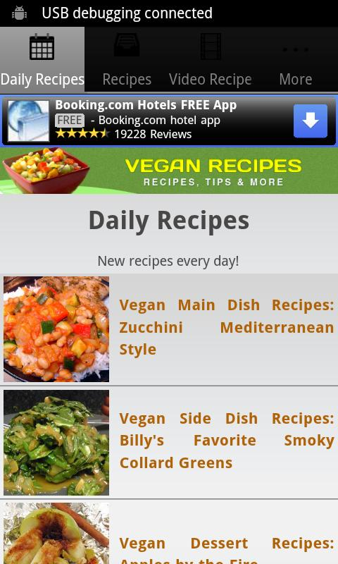 Vegan Recipes!- screenshot