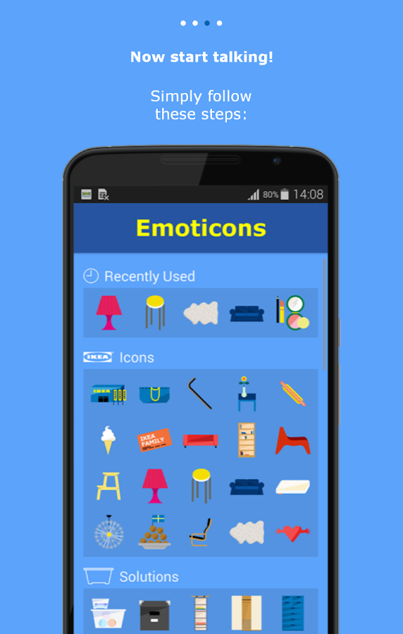 IKEA Emoticons- screenshot