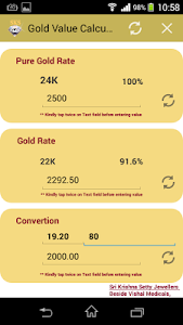Gold Value Calculator screenshot 3