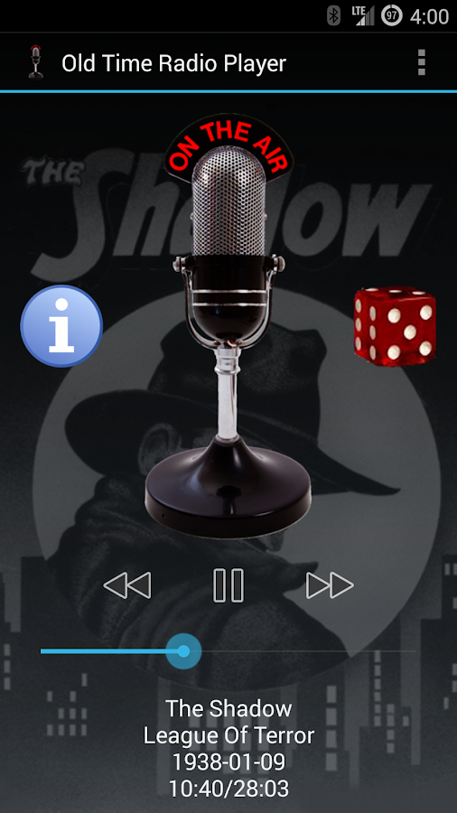 Old Time Radio Player- screenshot