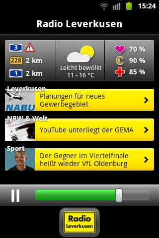 Radio Leverkusen- screenshot