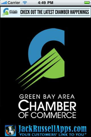 Green Bay Chamber of Commerce - screenshot