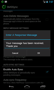 SMSSync SMS Gateway - screenshot thumbnail