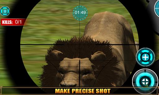 【免費動作App】杀死狮子 3D 狩猎-APP點子
