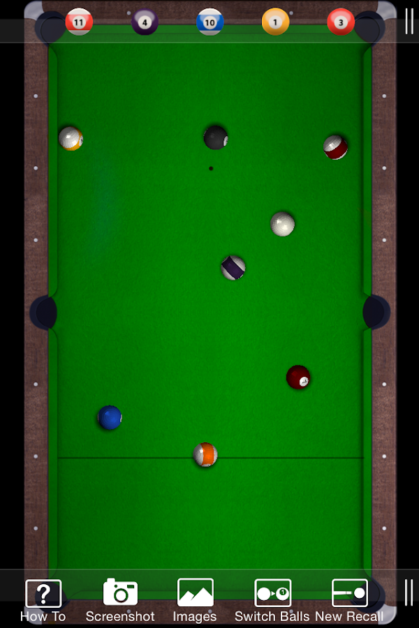 8-ball Recall- screenshot
