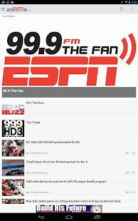 WRAL Sports Fan - screenshot thumbnail