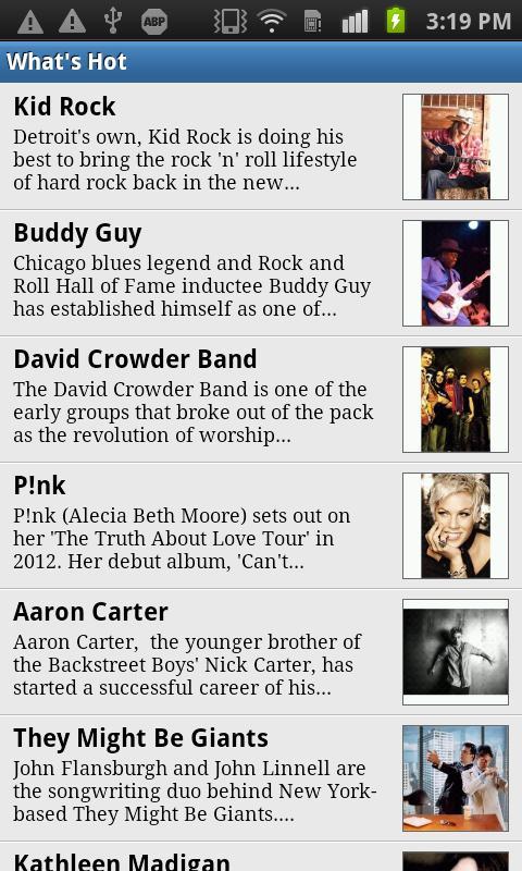 Louisville Events- screenshot