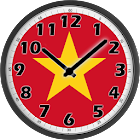 Vietnam Clock icon