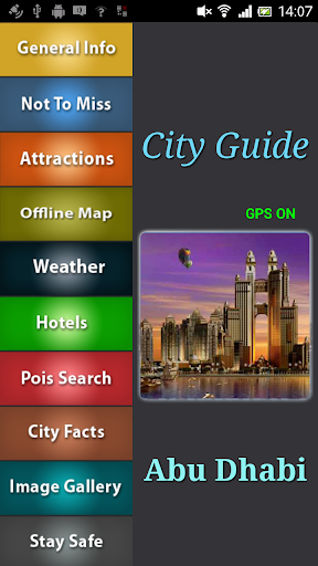Abu Dhabi Offline Guide