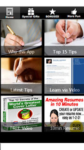 Write Cover Letter&Resume Tips - screenshot thumbnail