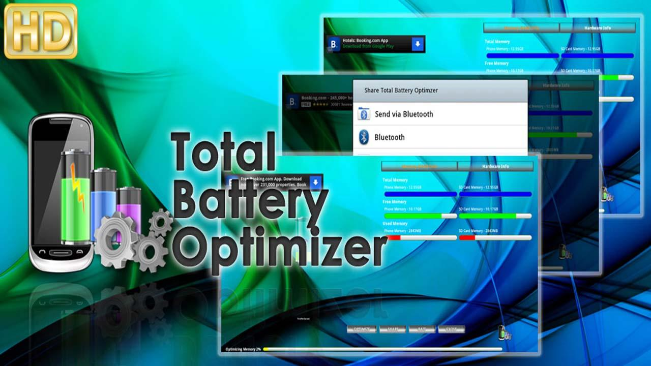 Total Battery Optimizer FREE - screenshot