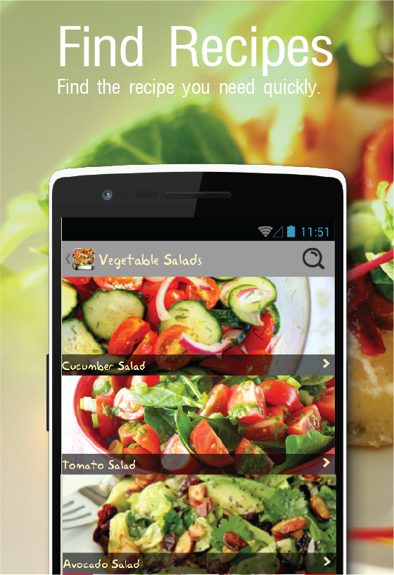 1000salad recipes free app android apps on google play 1000salad recipes free app screenshot forumfinder Choice Image